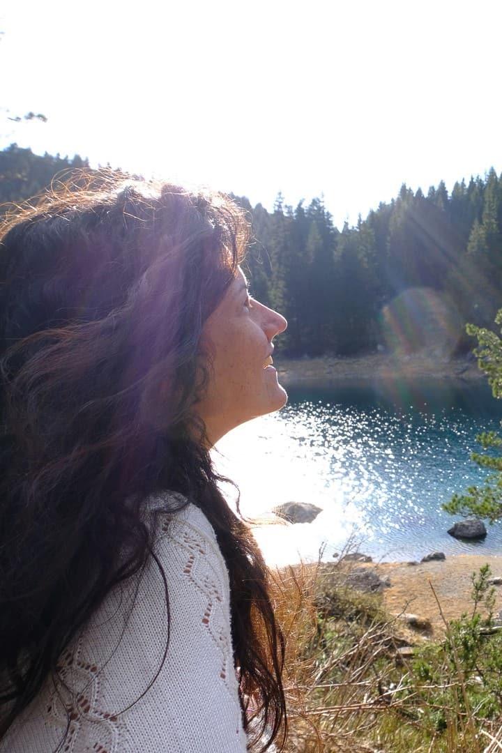 Godersi il panorama respirando la natura