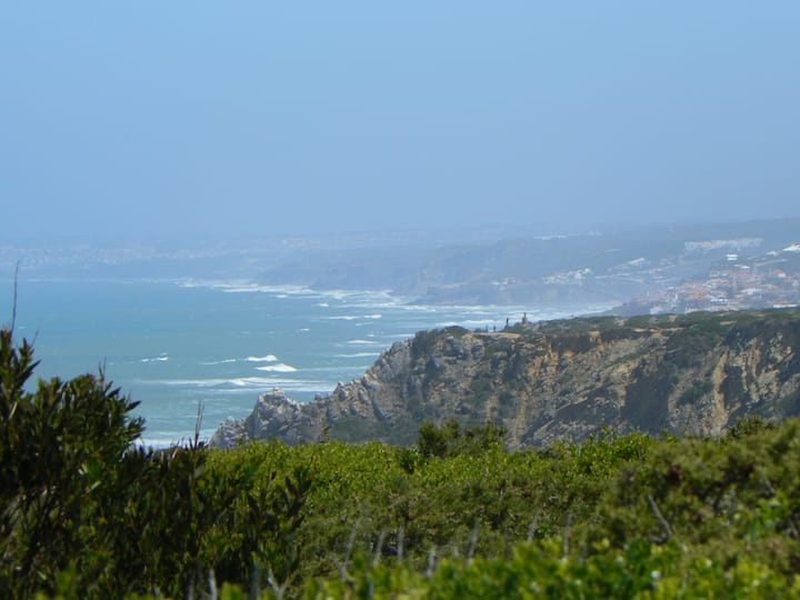 View from cliff near Roca Cape