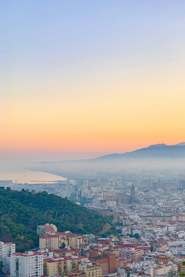 Best views of Málaga from above