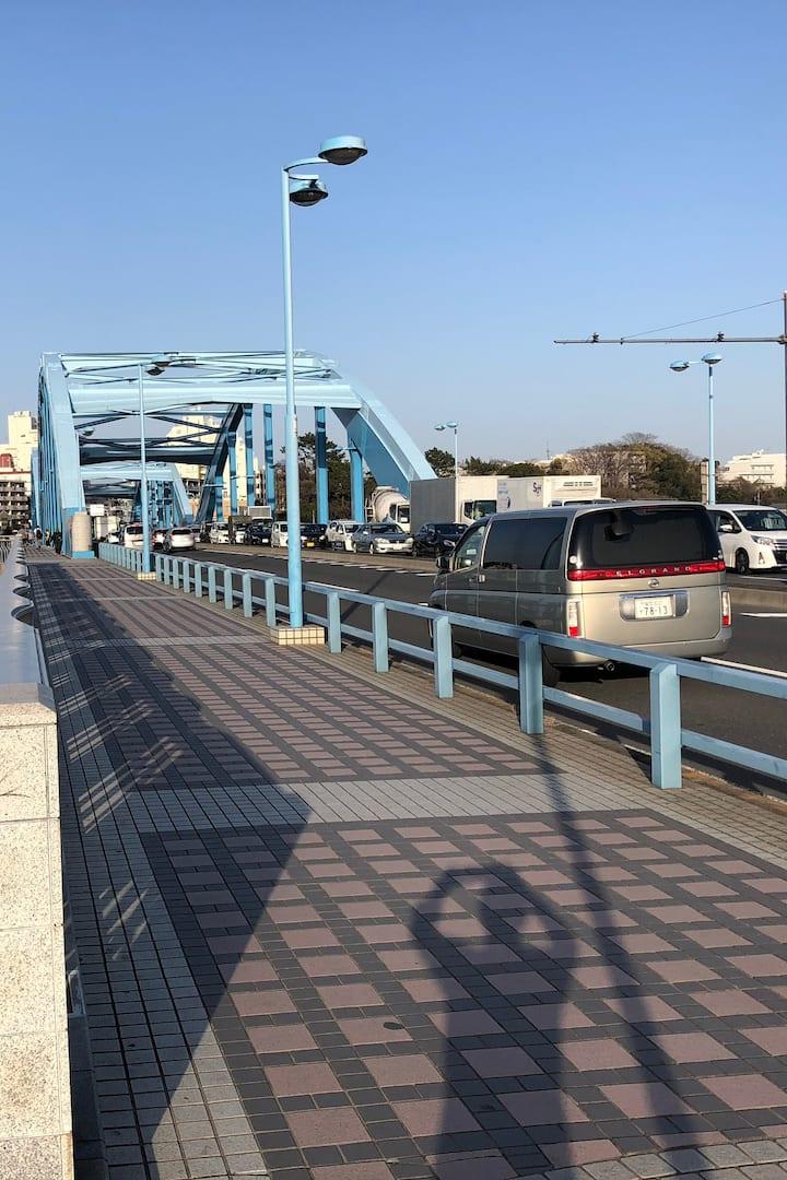 This is Maruko-bridge