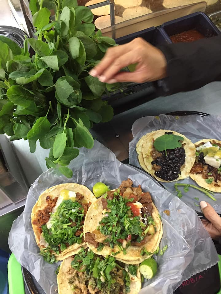 Off course: the real street tacos