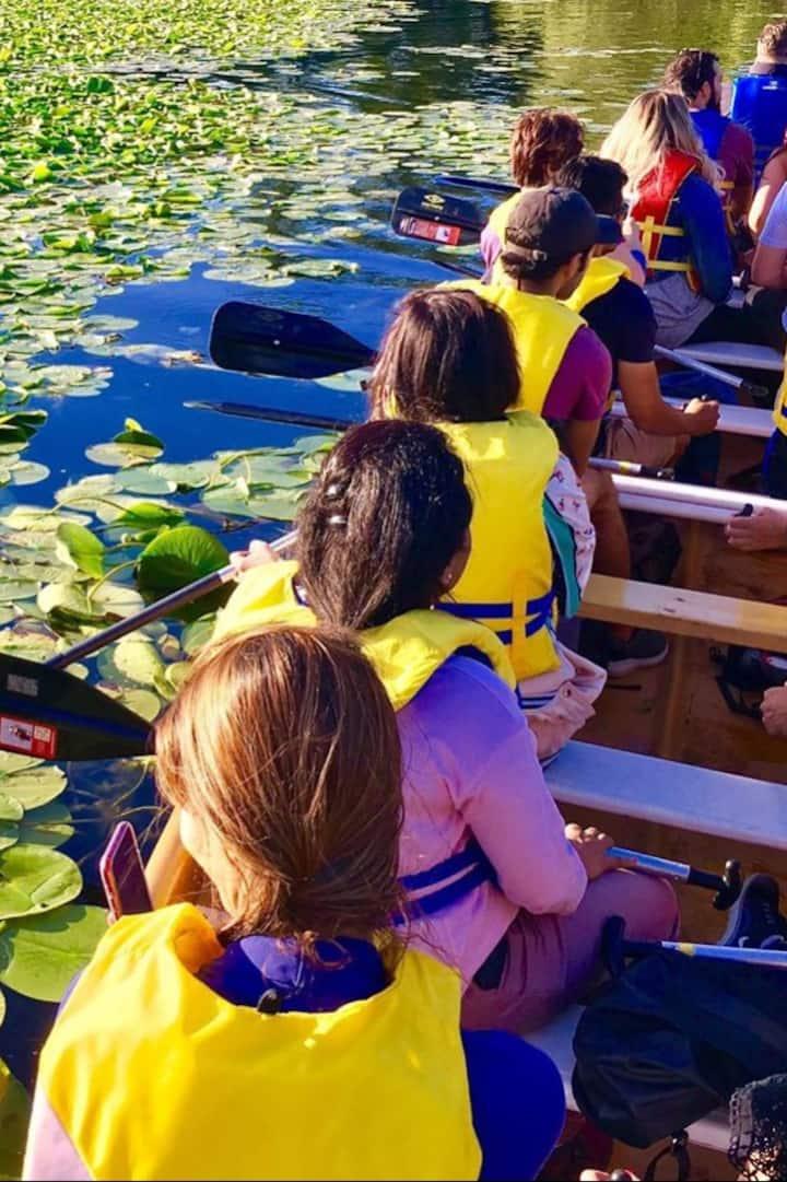 toronto islands canoe adventure