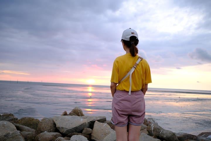Enjoy the Sunset moment