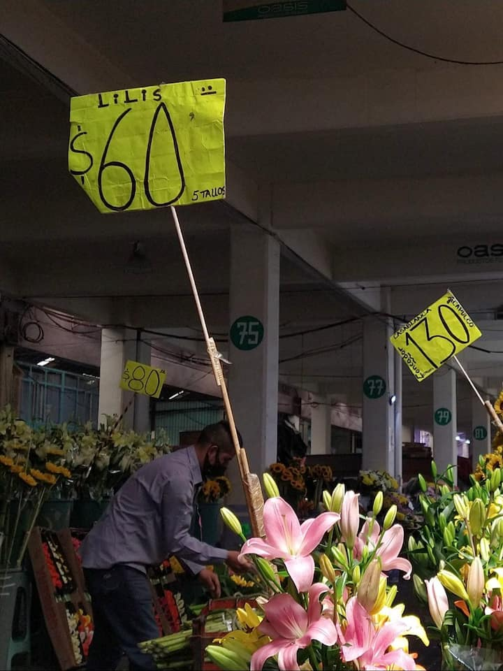 The cheapest flowers.