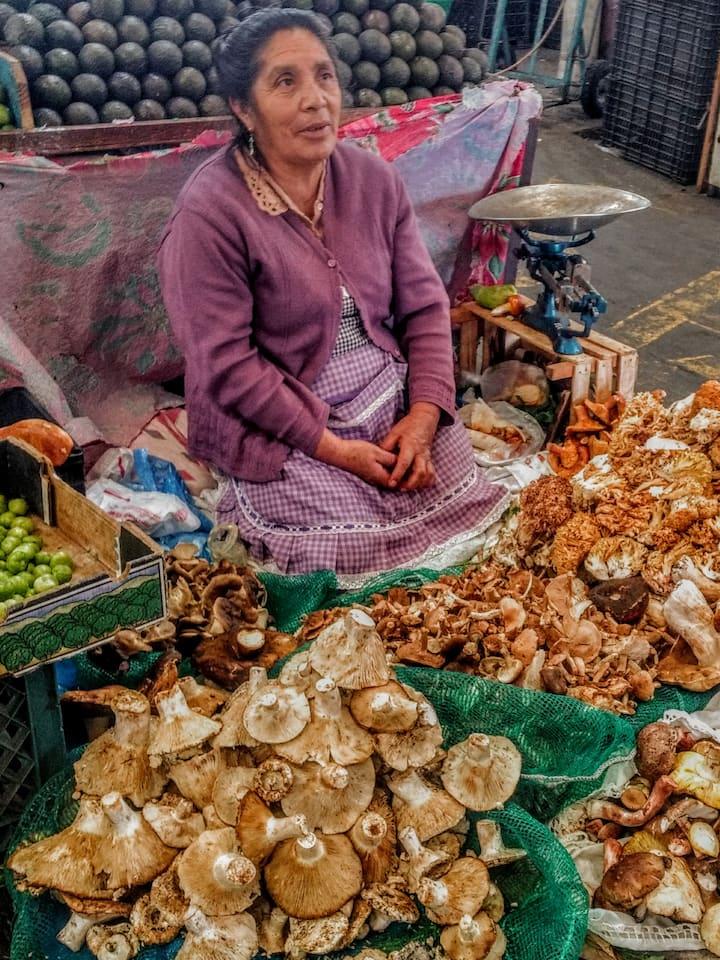 Local vendors.