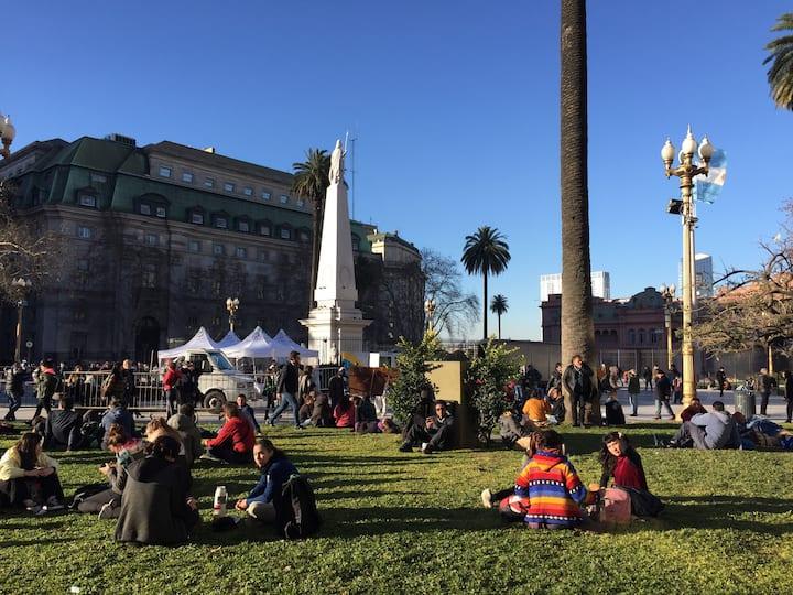 Ronda de las madres de Plaza de Mayo