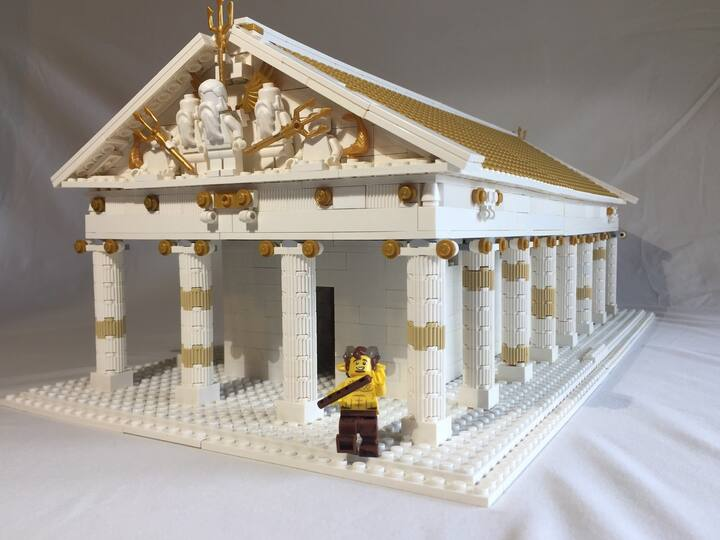 To build a temple...