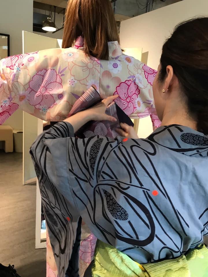 First kimono