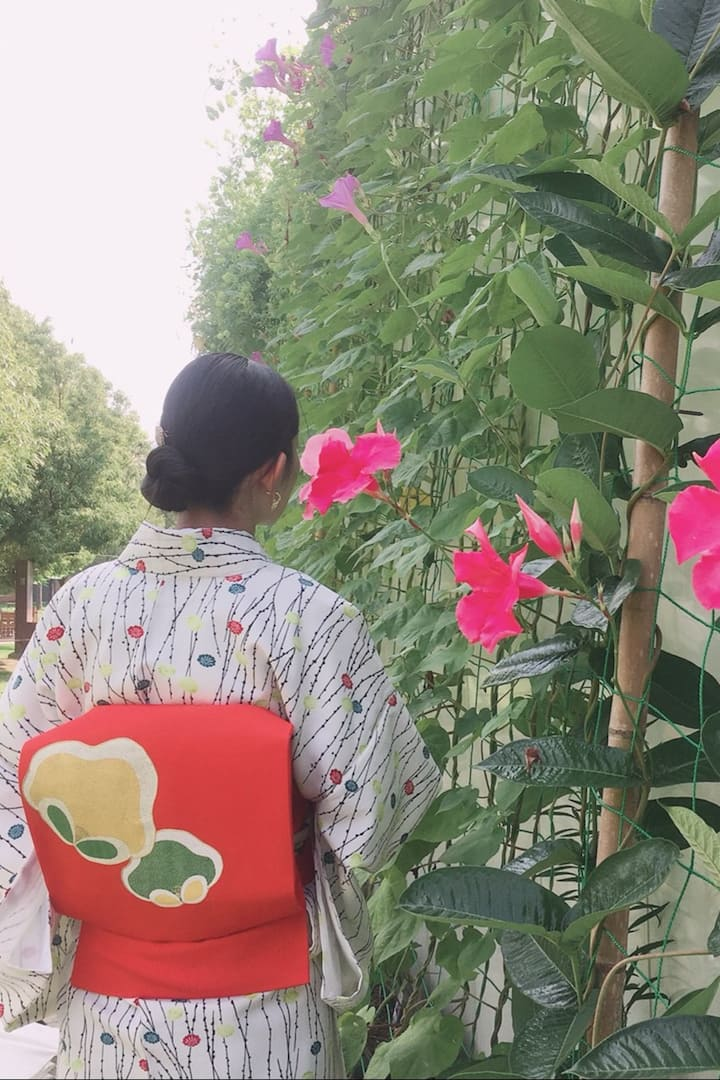 Kimono walk