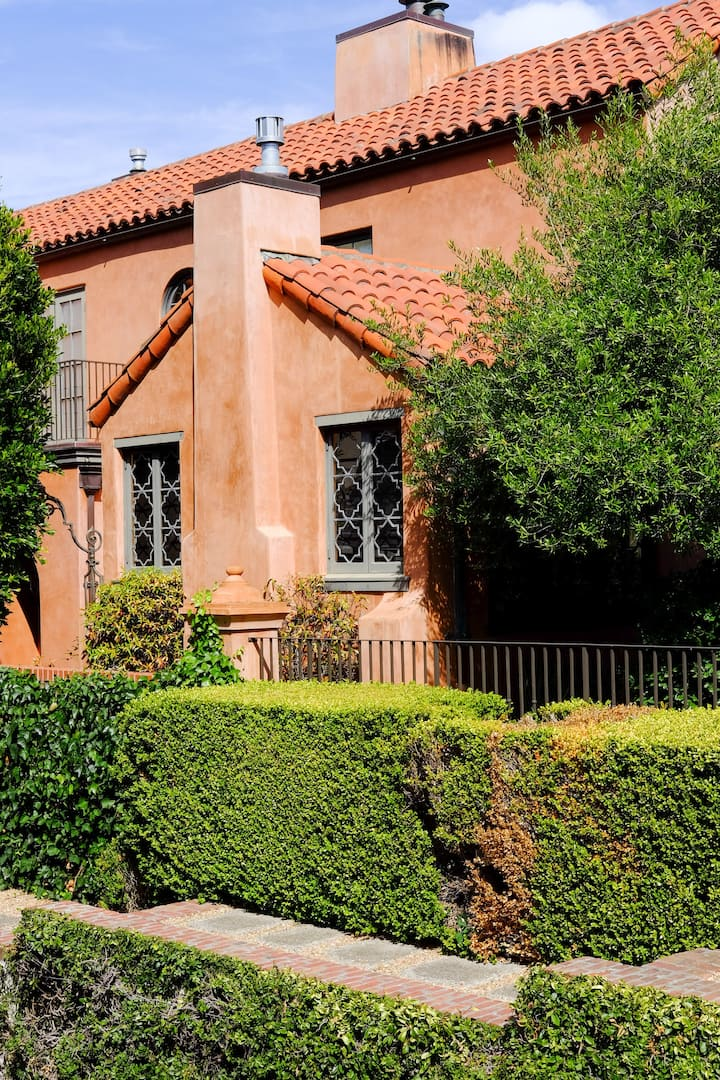 Spanish influenced architecture style