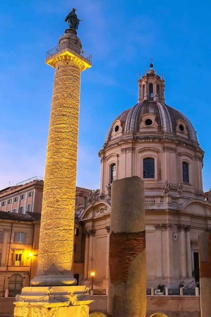 Trajans Column meeting point