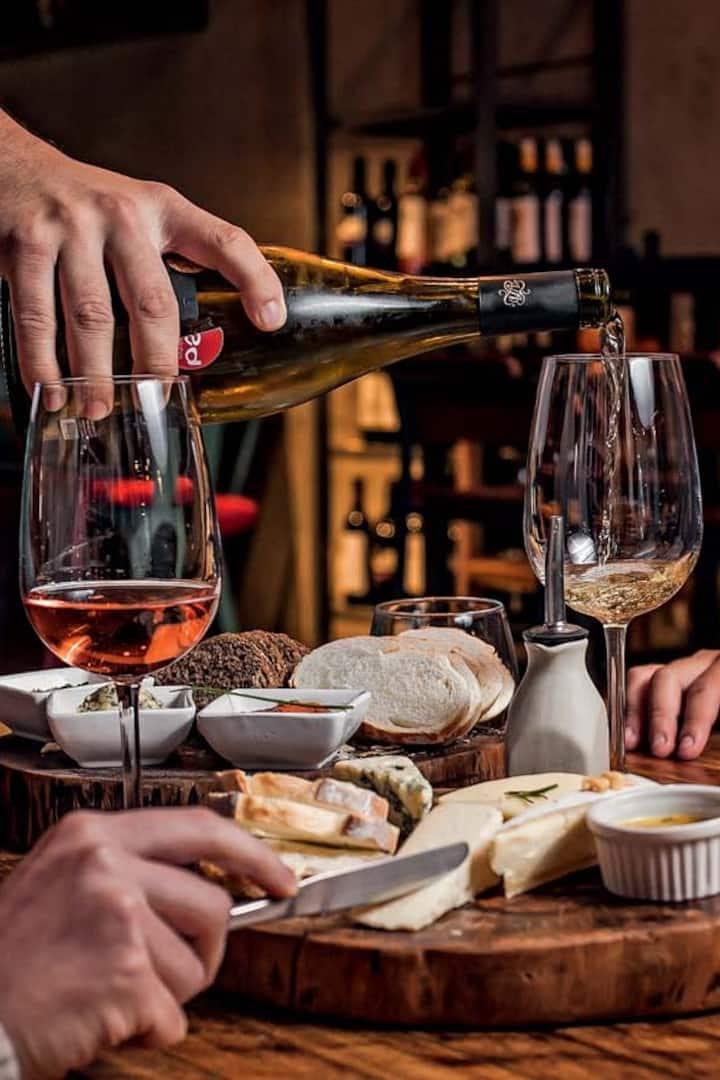 Degustação de vinhos c/ petiscos