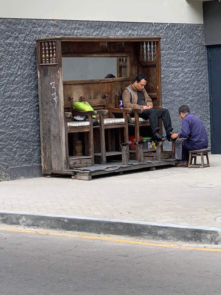 Daily life in Lima