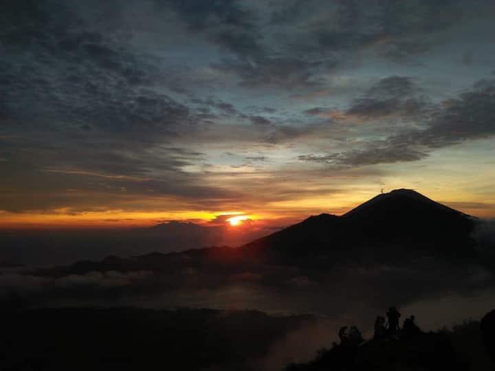 Summit sunrise view
