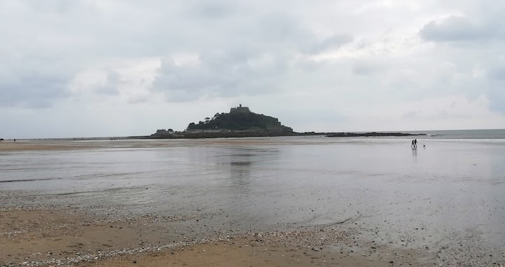 St Michael's Mount from the bay
