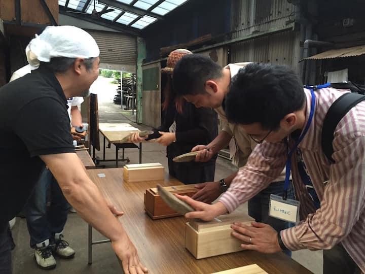 Experience shaving katsuobushi
