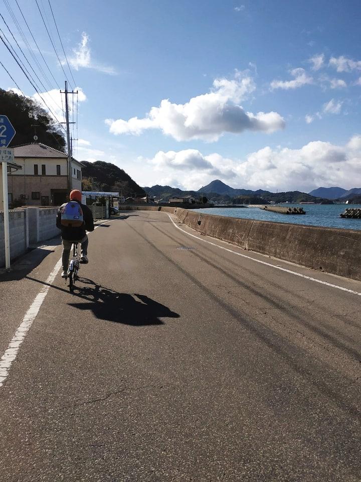 Cycle through coastal villages