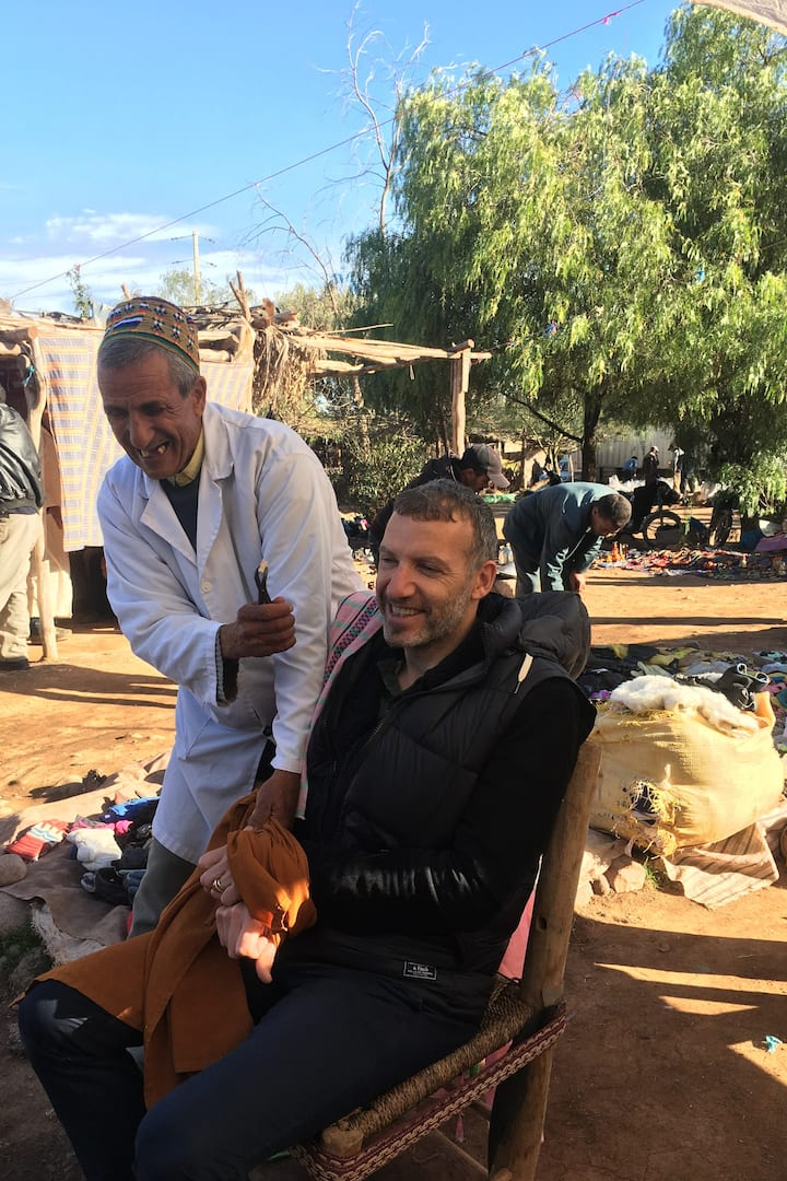The berber market (Monday)