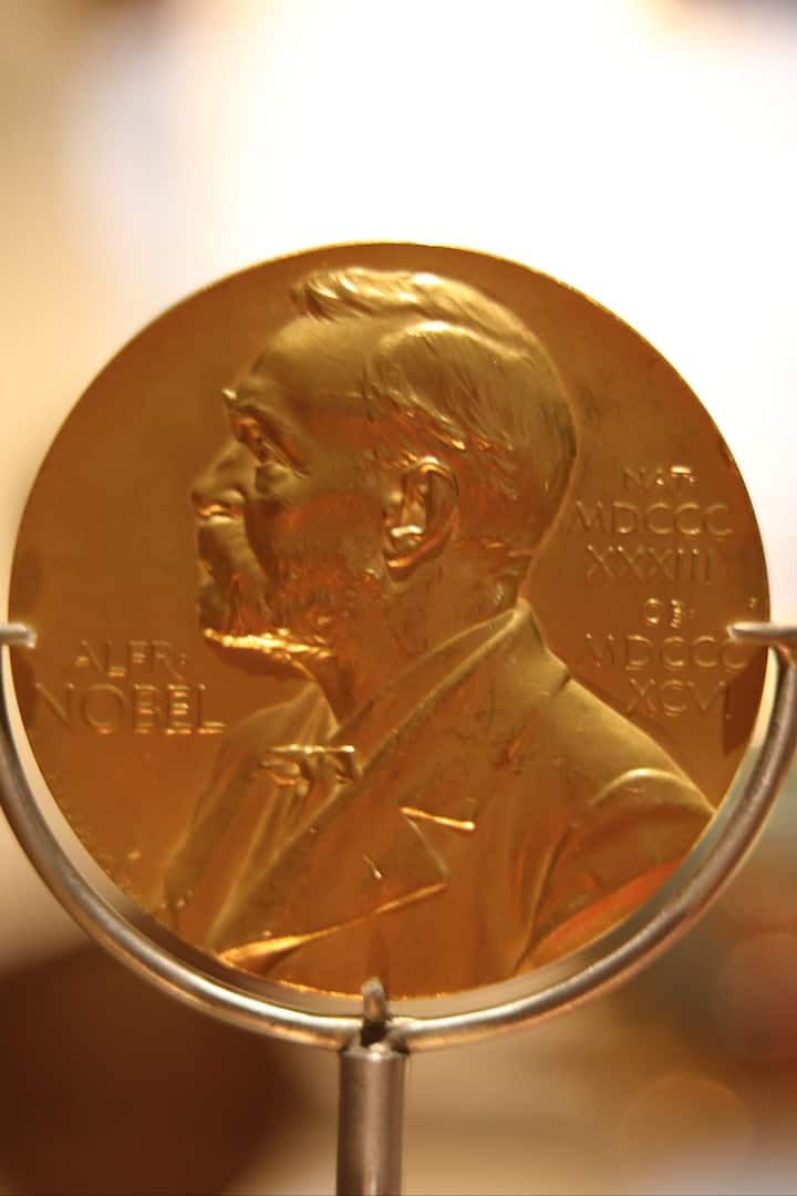 Fleming's Nobel medal for Penicillin