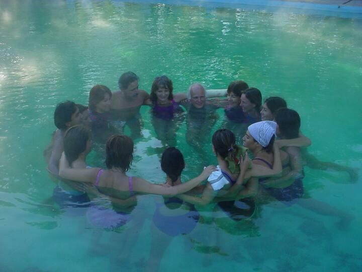 dinâmica grupal da água