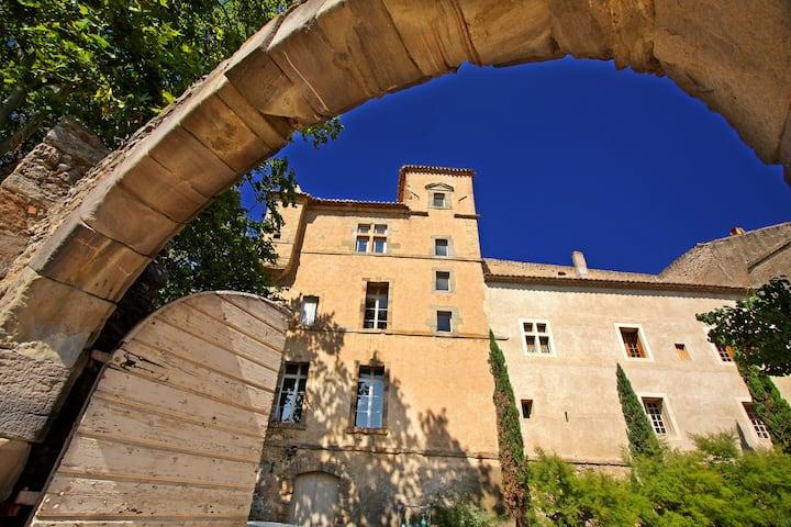 Chateau de Luc, vue coté cave