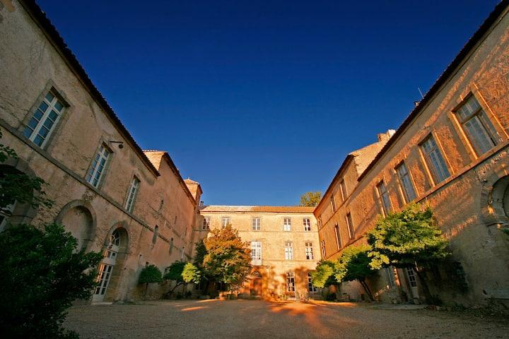 Cour d'honneur du Chateau de Luc