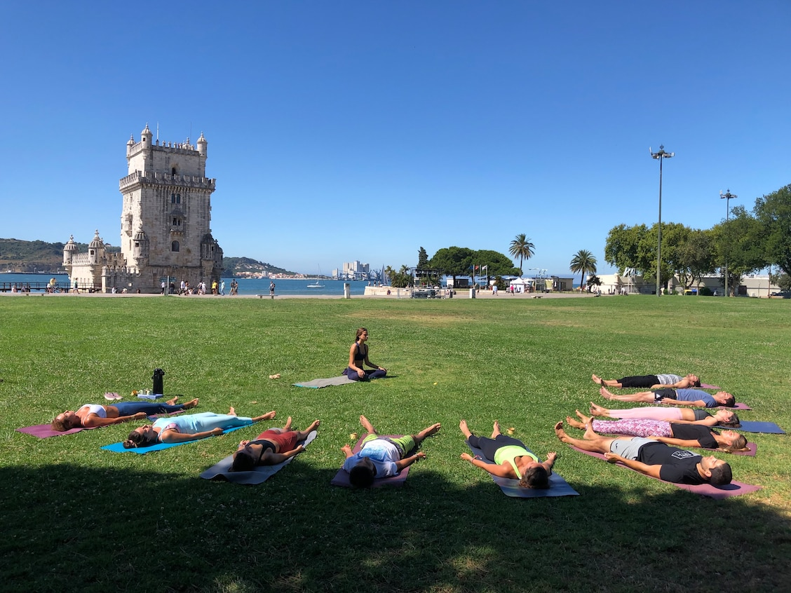 Yoga W Healthy Sustainable Themes