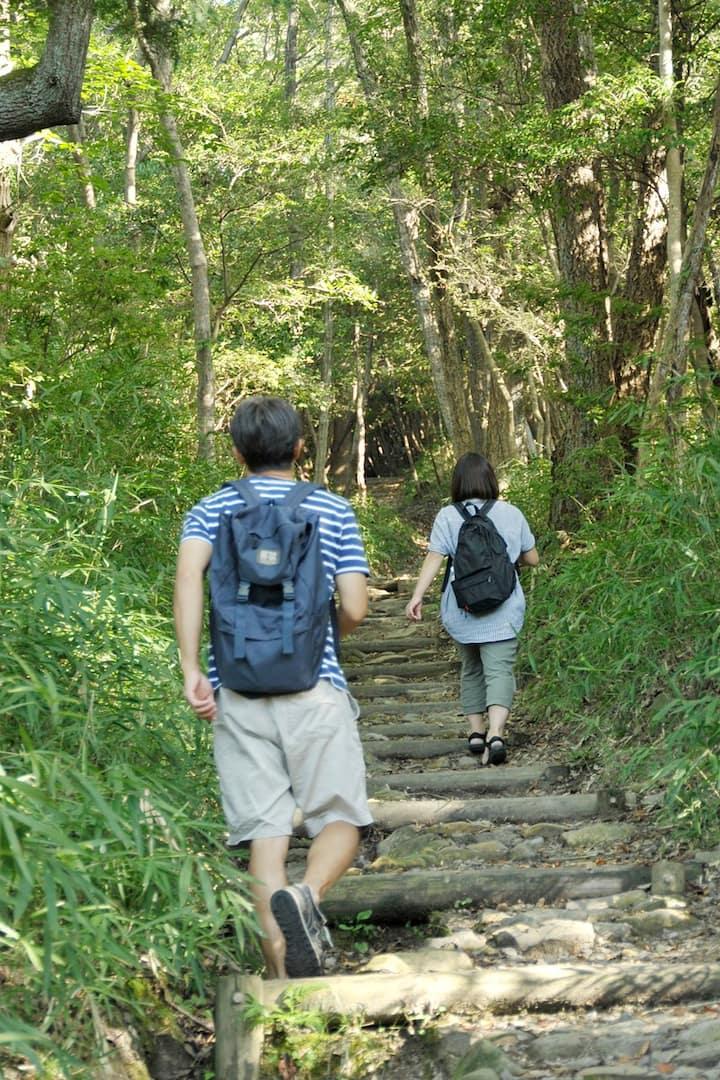 屋島の登山道