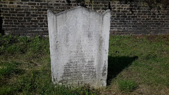 Grave rubbing experience to remember
