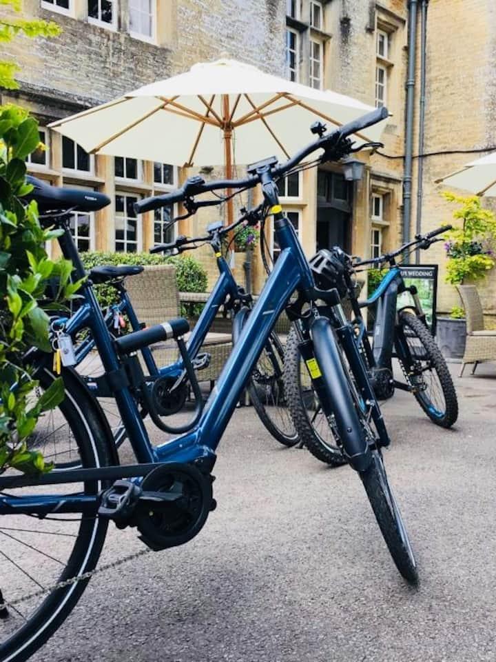 Step through bikes ready to ride!