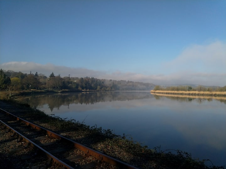 Early morning on the river Suir