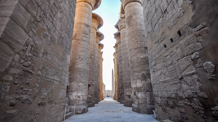 Great Hypostyle hall at Karnak Temple