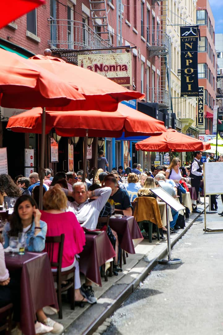 Restaurants in Little Italy
