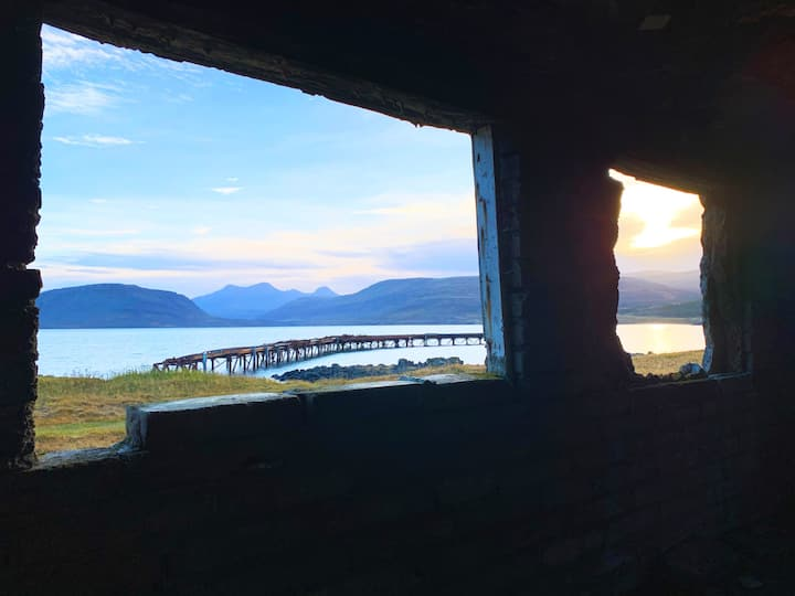 The view from an old military bunker