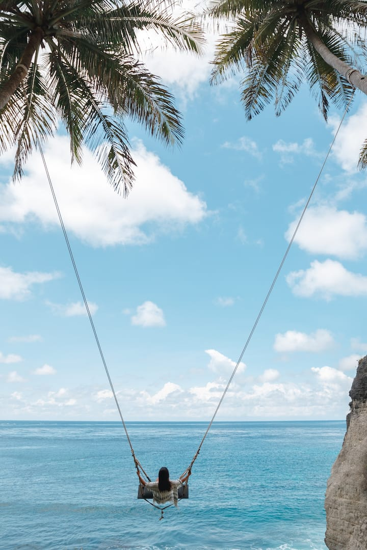 Ocean Swing at Diamond Beach