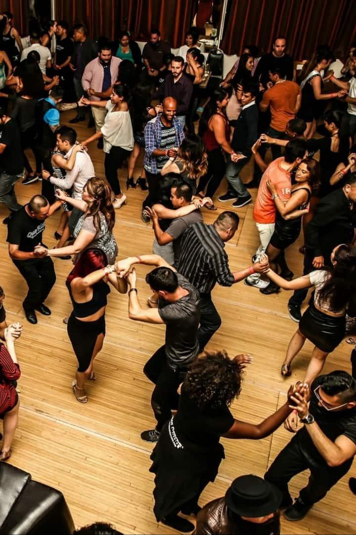 An example of a salsa social in Toronto