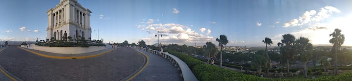 A panoramic view that you can enjoy!