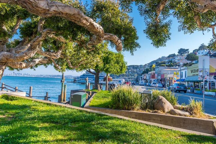 Enjoy lunch in Sausalito!