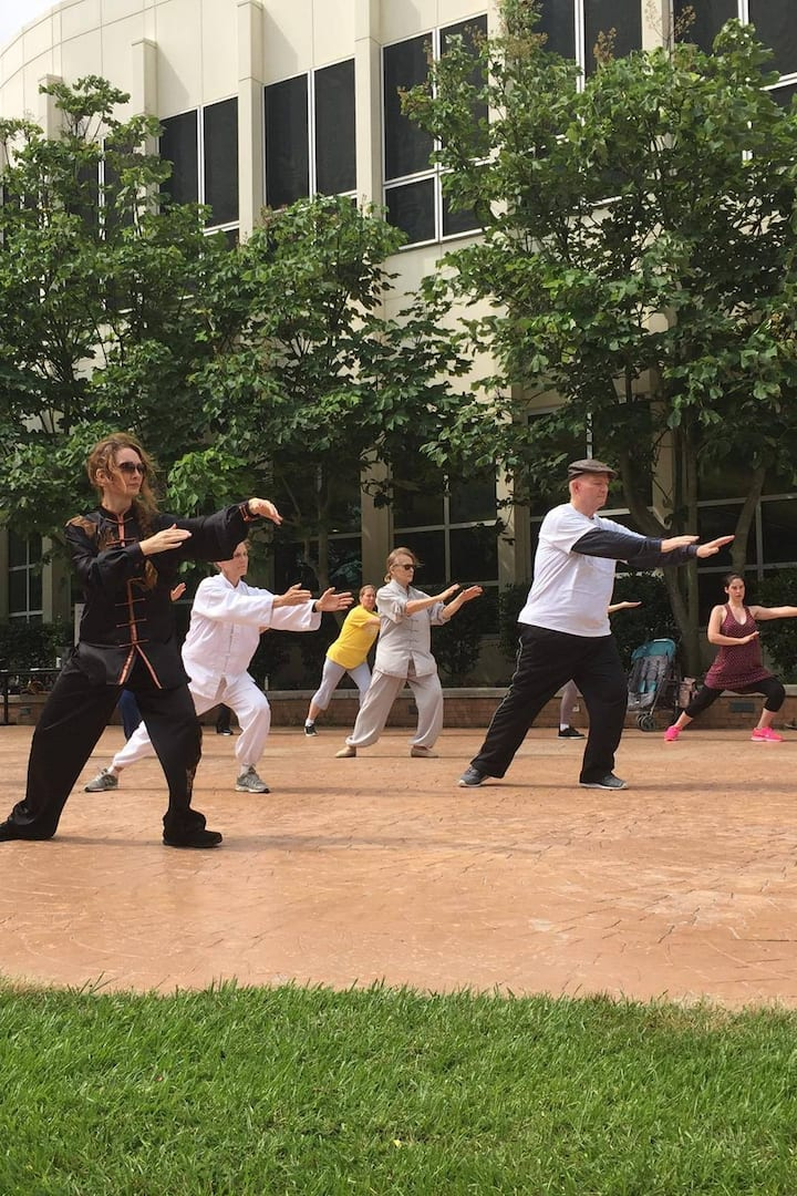 All ages can do Tai Chi & Qigong