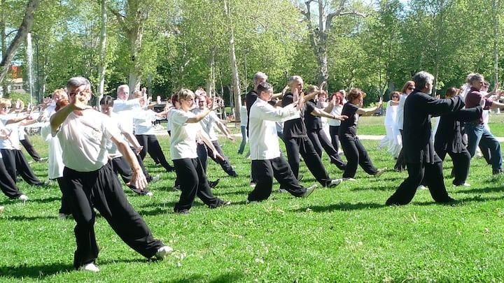 Outdoor Nature Tai Chi & Qigong Exercise