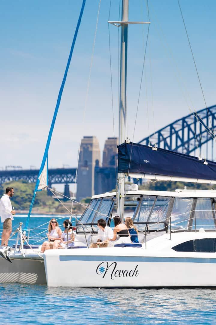 Nevaeh - a 10.5 metre catamaran