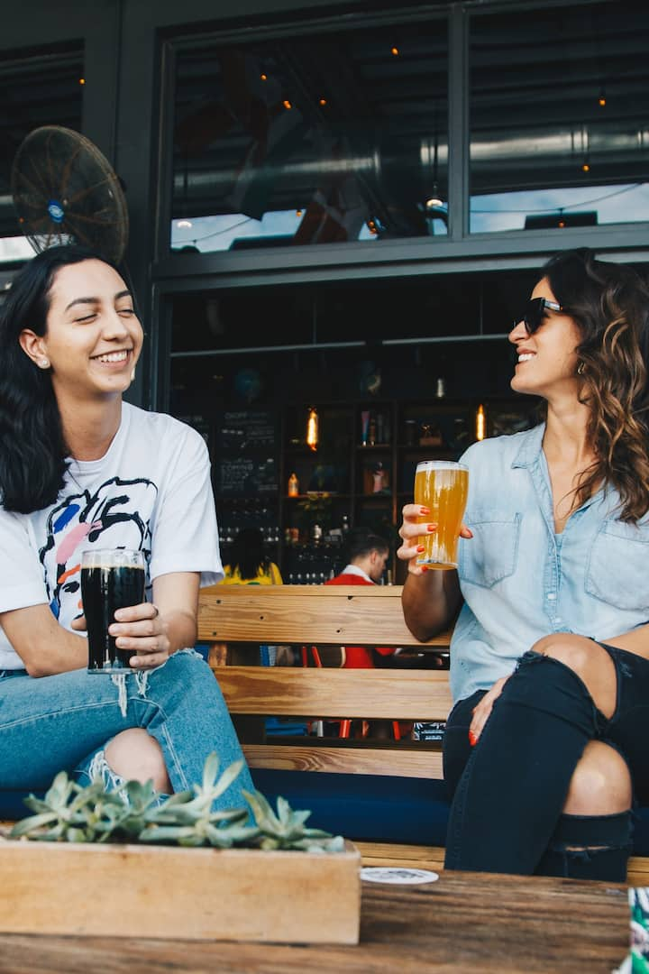Enjoy chatting with Craft Beer