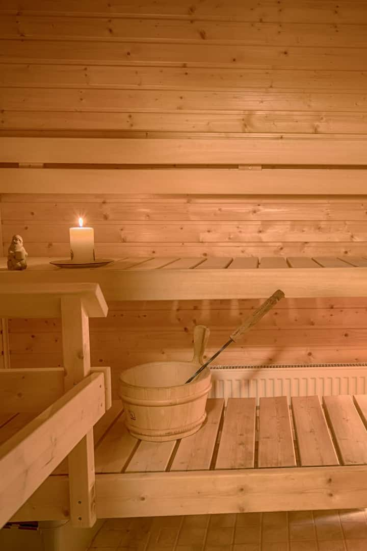 Sauna is available with JPY300 extra