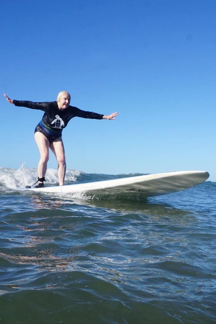 Surfing Grandma