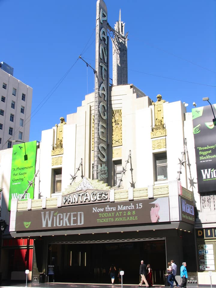 Pantages Theater (meeting point)