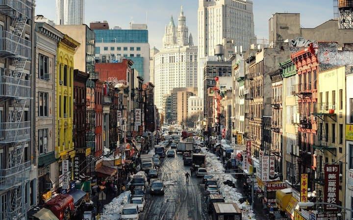 chinatown neighborhood walk