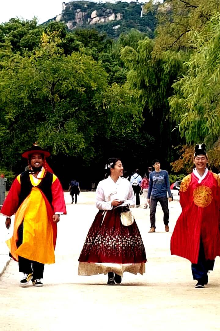 Gyeongbokgung with Hanbok