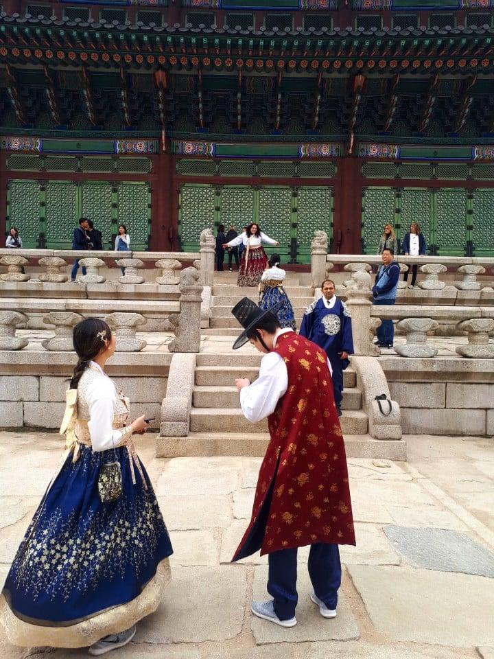Gyeongboking with Hanbok
