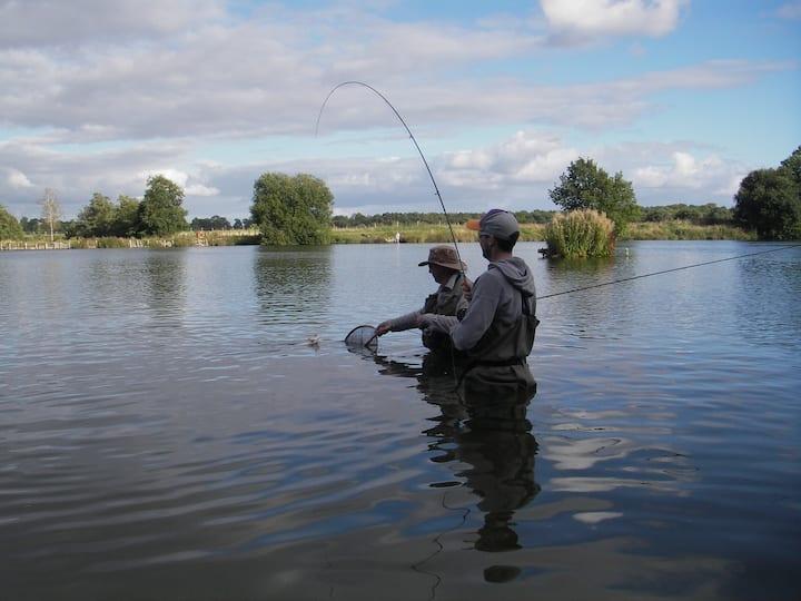 Lake Fishing in North Yorkshire