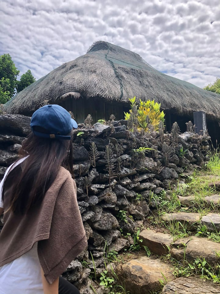 Visiting traditional house